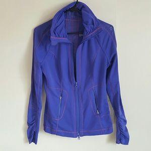 Zella | zip up purple athletic pullover